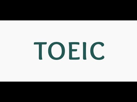 TOEIC Listening with script